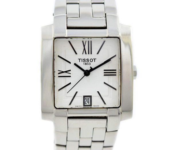 Pre-Owned Tissot 1853 T-Trend Date Quartz Men's Watch L860/960K vintage