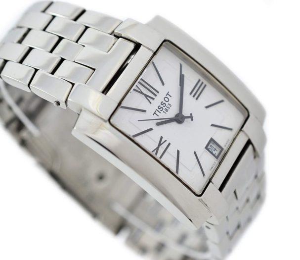 Pre-Owned Tissot 1853 T-Trend Date Quartz Men's Watch L860/960K time piece