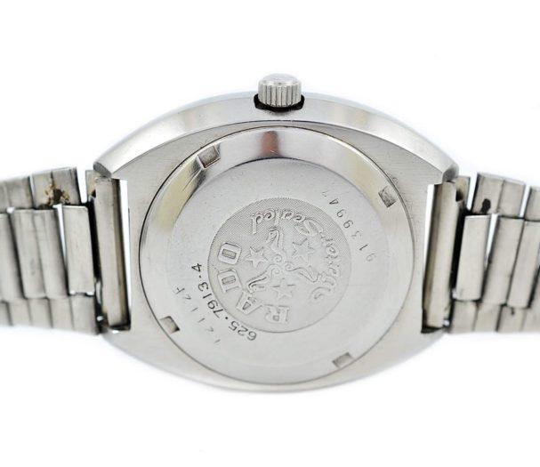 Pre-owned Rado Purple Gazelle Day/Date Automatic Men's Watch 625.7913.4 original