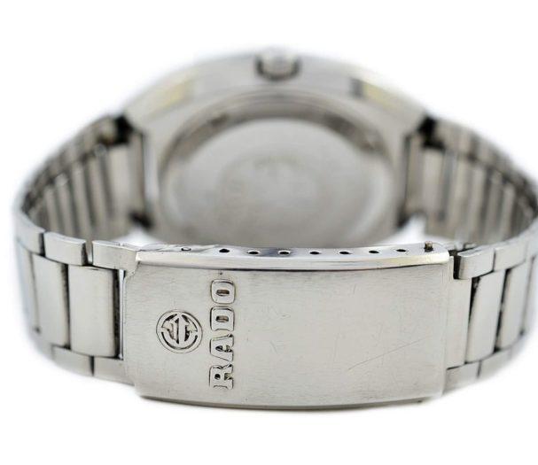 Pre-owned Rado Purple Gazelle Day/Date Automatic Men's Watch 625.7913.4 steel