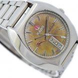 Pre-owned Rado Purple Gazelle Day/Date Automatic Men's Watch 625.7913.4 retro