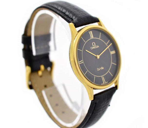 Vintage Pre-Owned Omega De Ville Cal.1365 Quartz Midsize Watch 191.0130