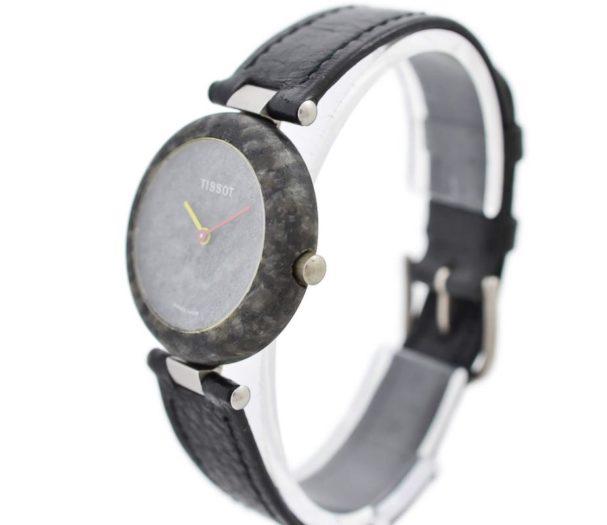 Vintage Tissot Rock Watch R150 Speckled Granite Quartz Ladies Watch 1980
