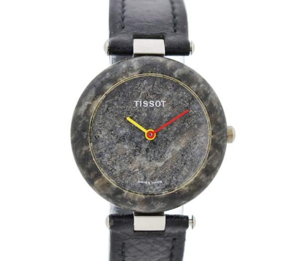 Vintage Tissot Rock Watch R150 Speckled Granite Quartz Ladies Watch stone