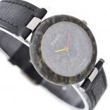 Vintage Tissot Rock Watch R150 Speckled Granite Quartz Ladies Watch leather