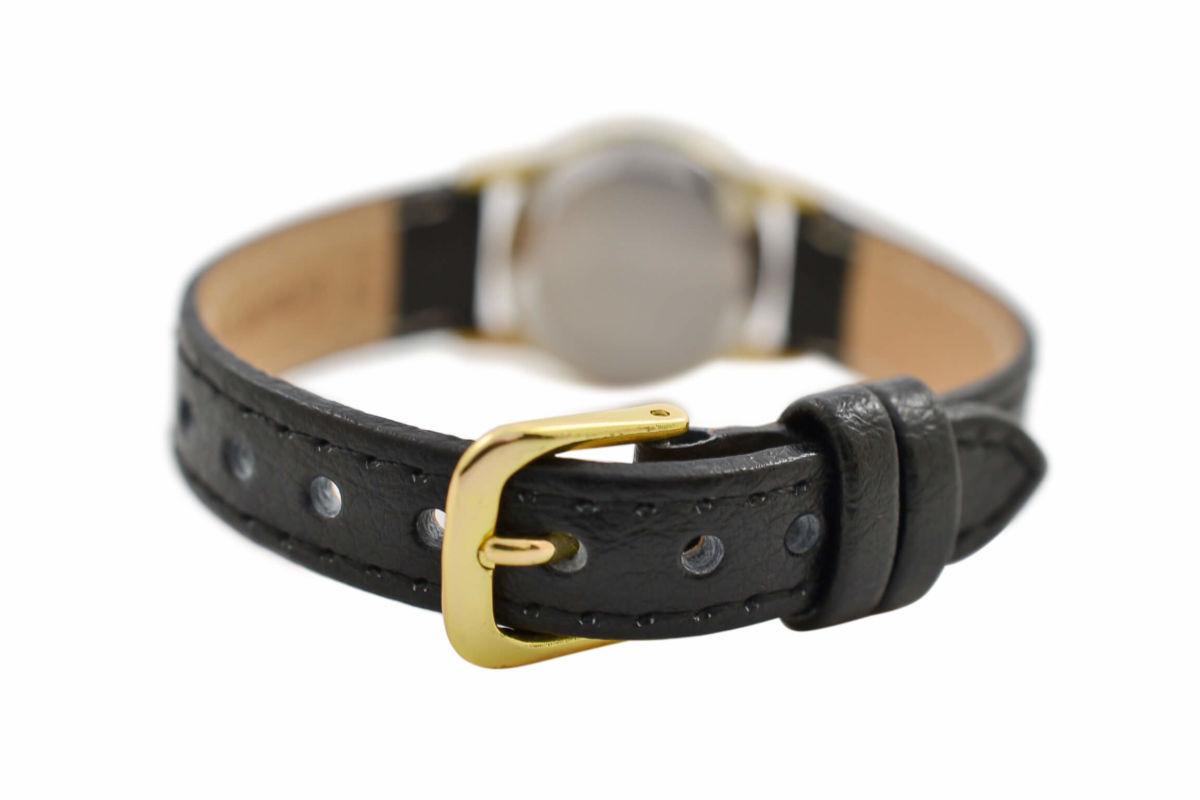 Vintage Omega De Ville Cal.1387 Quartz Gold Plated Ladies Watch 1980