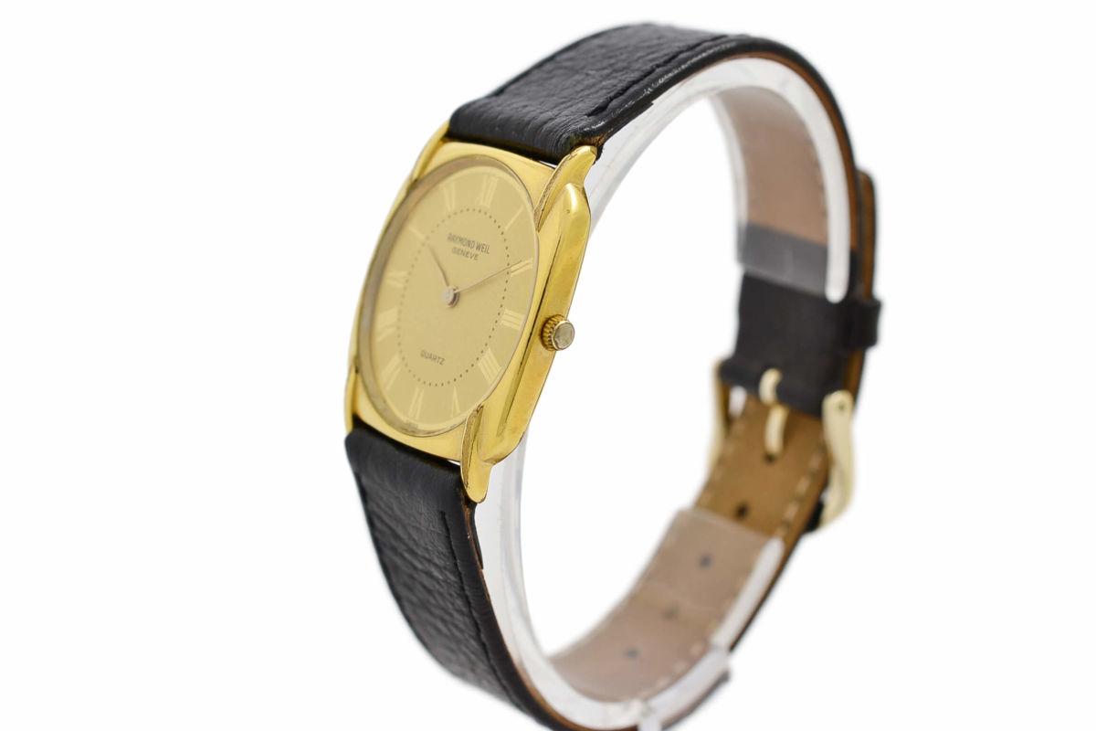 Vintage Raymond Weil Geneve 5788 Gold Plated Quartz Ladies Watch steel