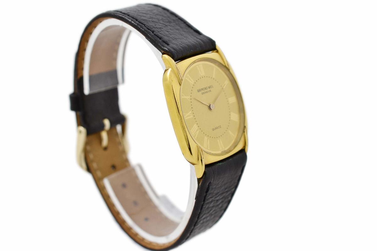 Vintage Raymond Weil Geneve 5788 Gold Plated Quartz Ladies Watch womens