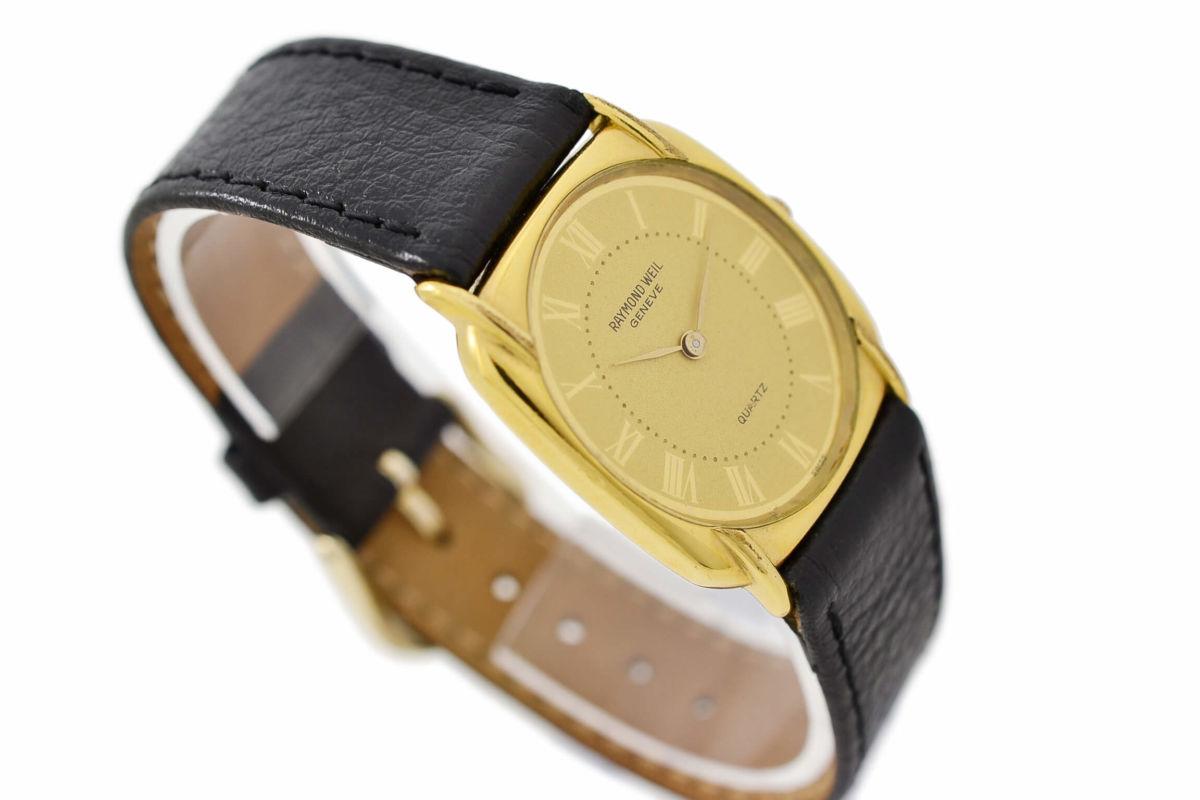 Vintage Raymond Weil Geneve 5788 Gold Plated Quartz Ladies Watch swiss