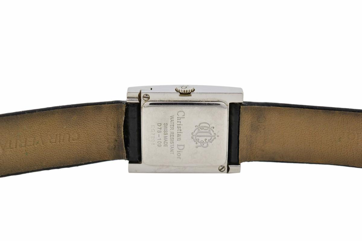 Vintage Christian Dior D78-109 Stainless Steel Ladies Quartz Watch