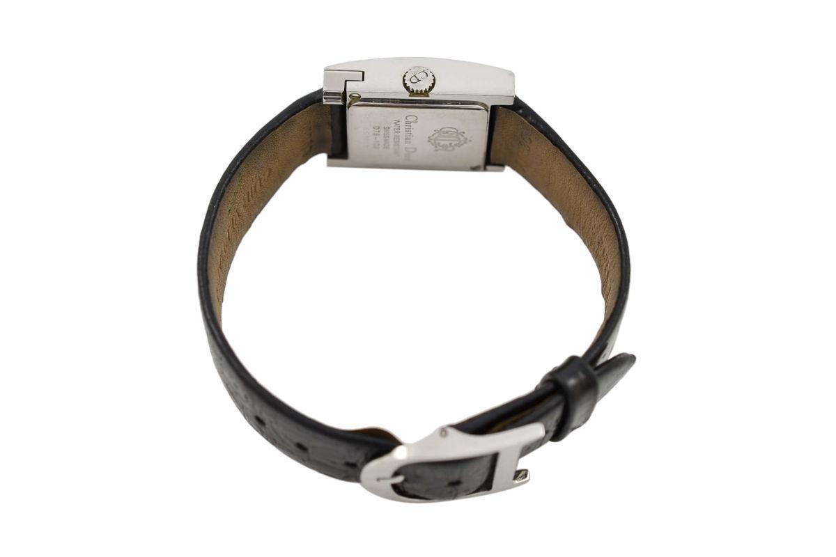 Vintage Christian Dior D78-109 Stainless Steel Ladies Quartz Watch buckle