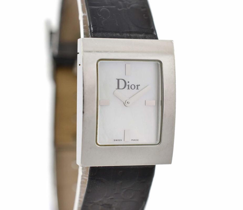 Christian Dior D78-109 Quartz Steel