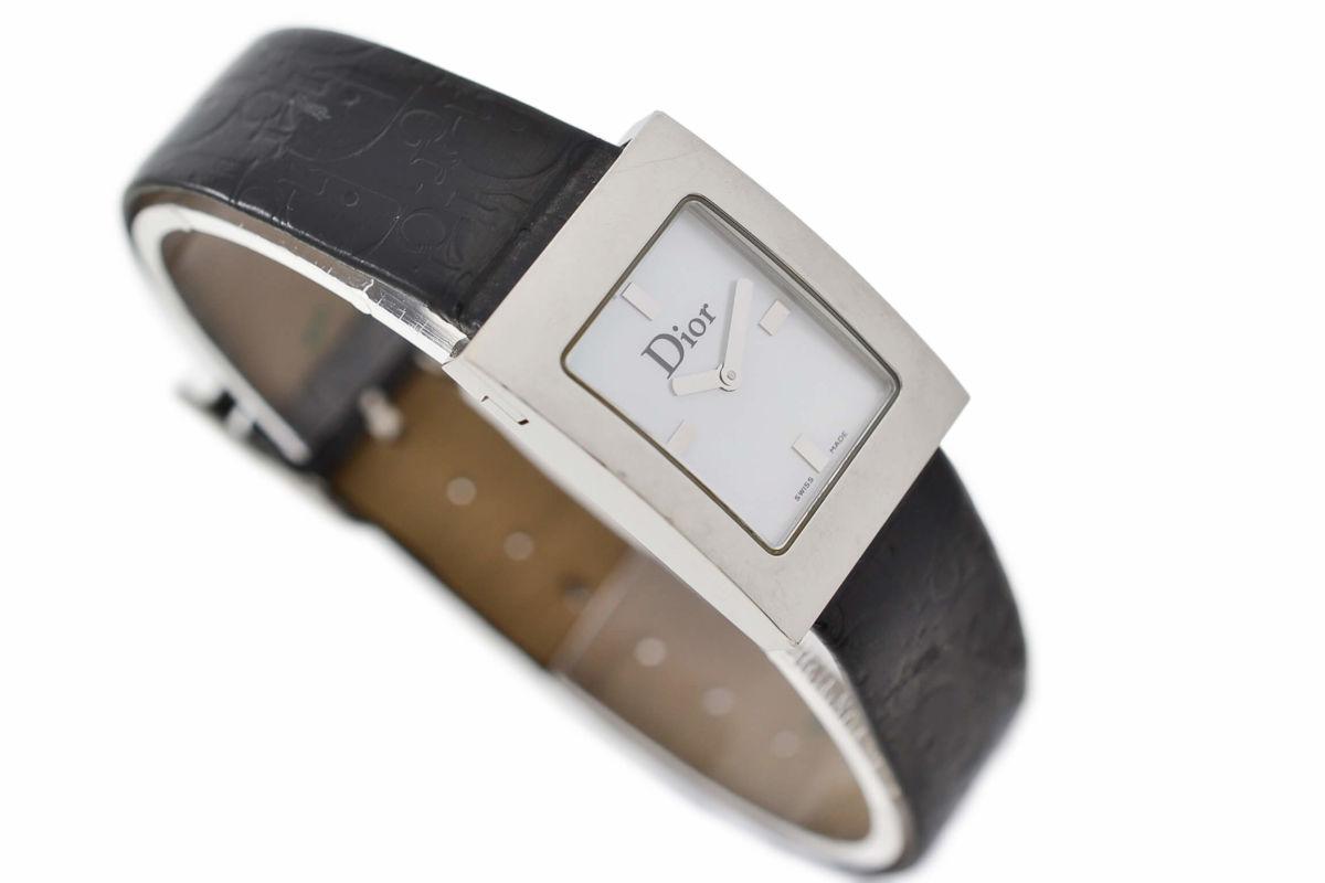Vintage Christian Dior D78-109 Stainless Steel Ladies Quartz Watch women