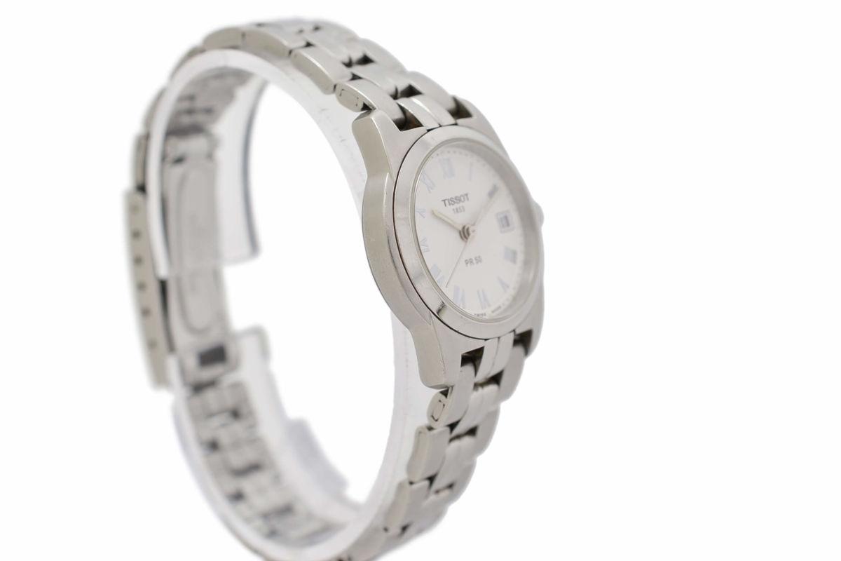 Pre-Owned Tissot PR50 J326/426 Stainless Steel Quartz Ladies Watch swiss