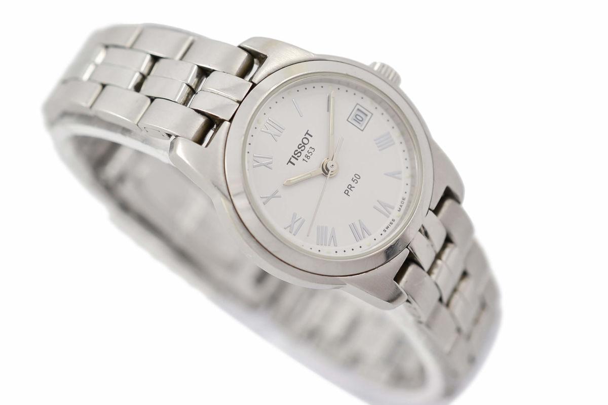 Pre-Owned Tissot PR50 J326/426 Stainless Steel Quartz Ladies Watch