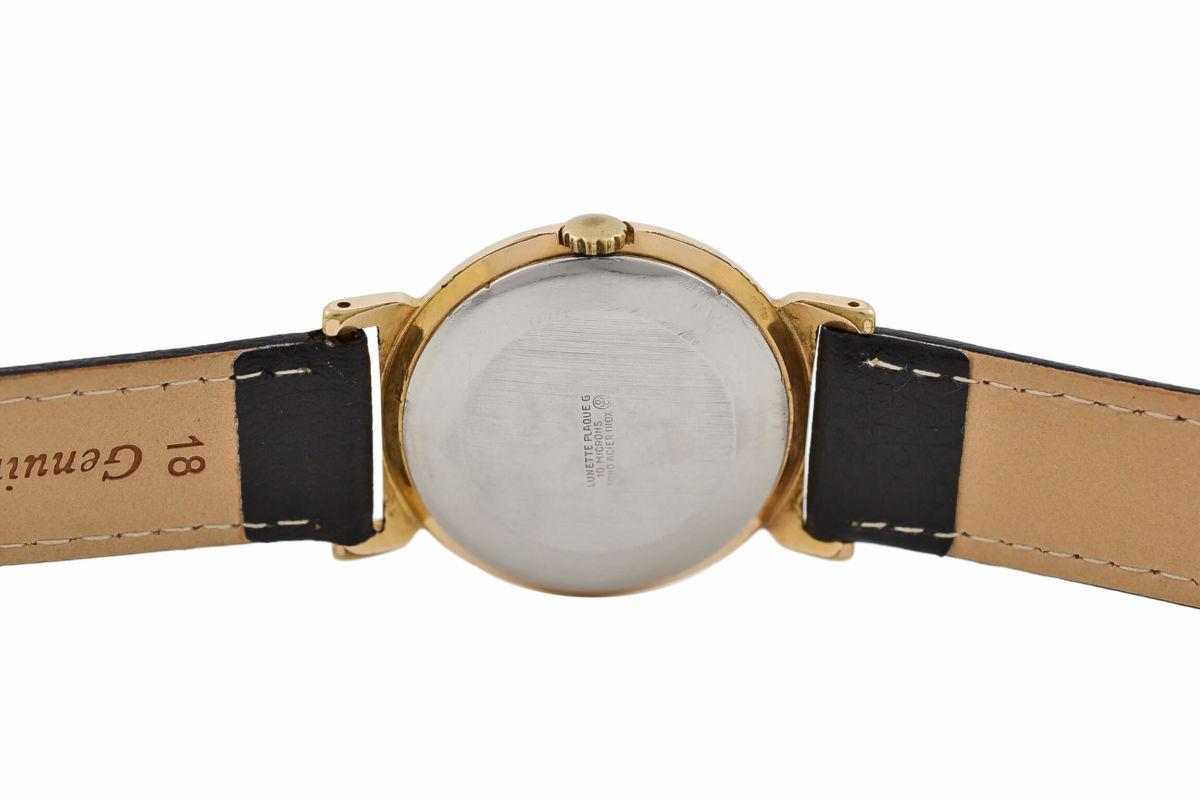 Vintage Oris Anti-Shock T Gold Plated Manual Wind Midsize Watch womens