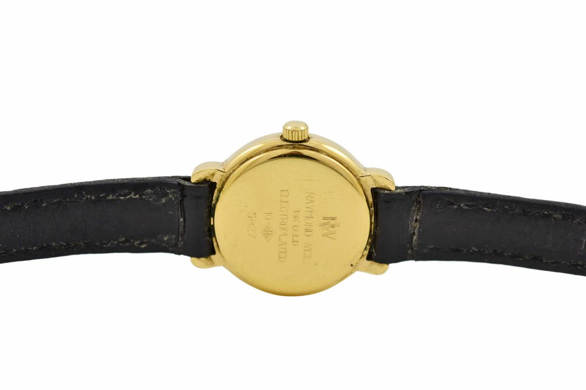 Vintage Raymond Weil Geneve 5827 Gold Plated Quartz Ladies Watch swiss
