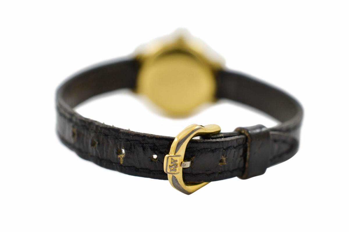 Vintage Raymond Weil Geneve 5827 Gold Plated Quartz Ladies Watch retro