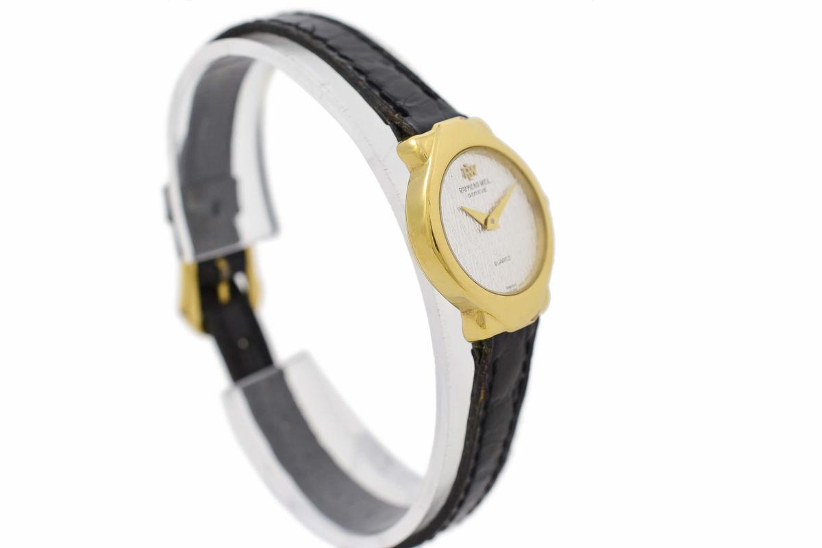 Vintage Raymond Weil Geneve 5827 Gold Plated Quartz Ladies Watch womens