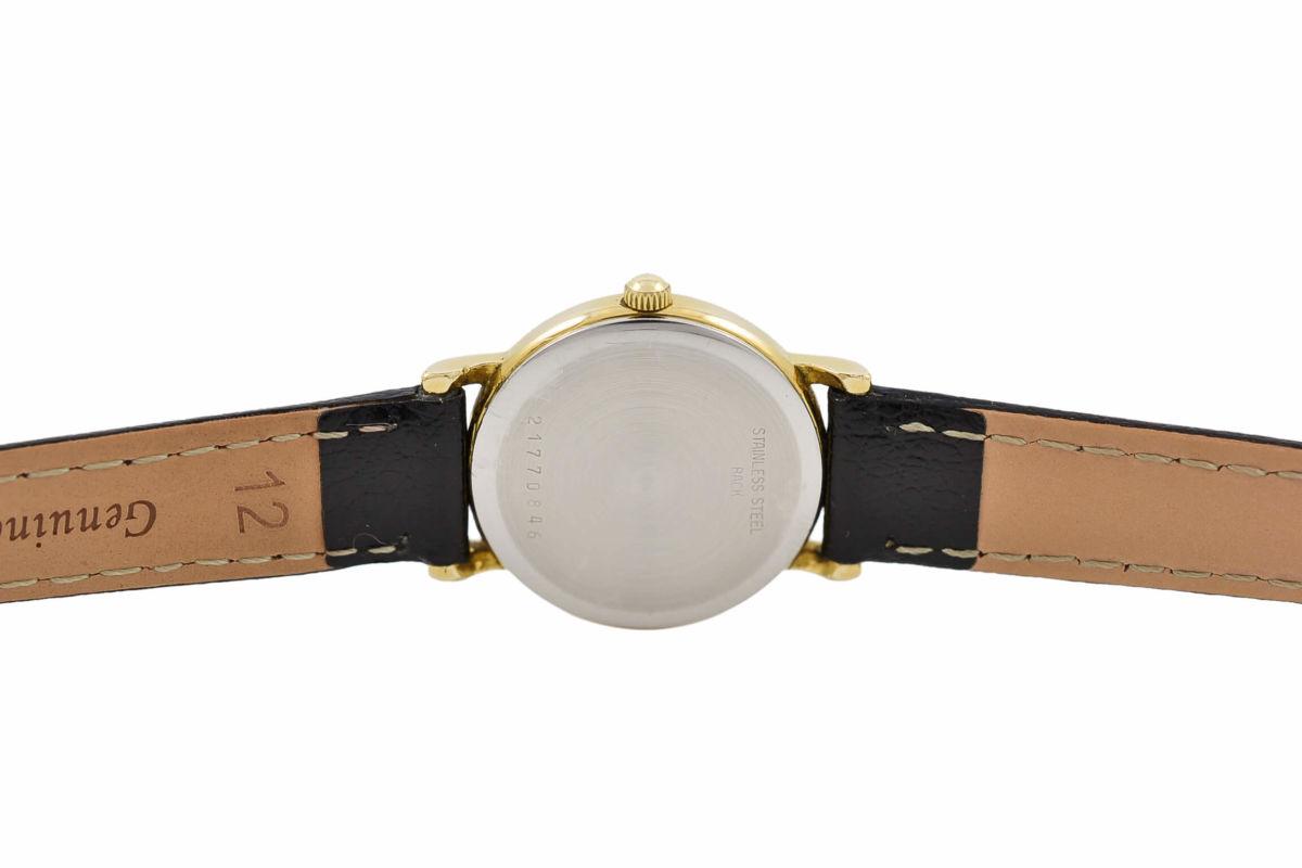 Vintage Longines Presence Gold Plated Ladies Quartz Watch