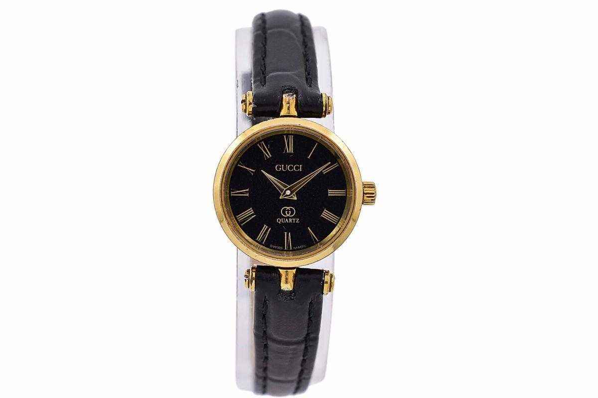 Vintage Gucci 2000L Quartz Gold Plated Ladies Watch