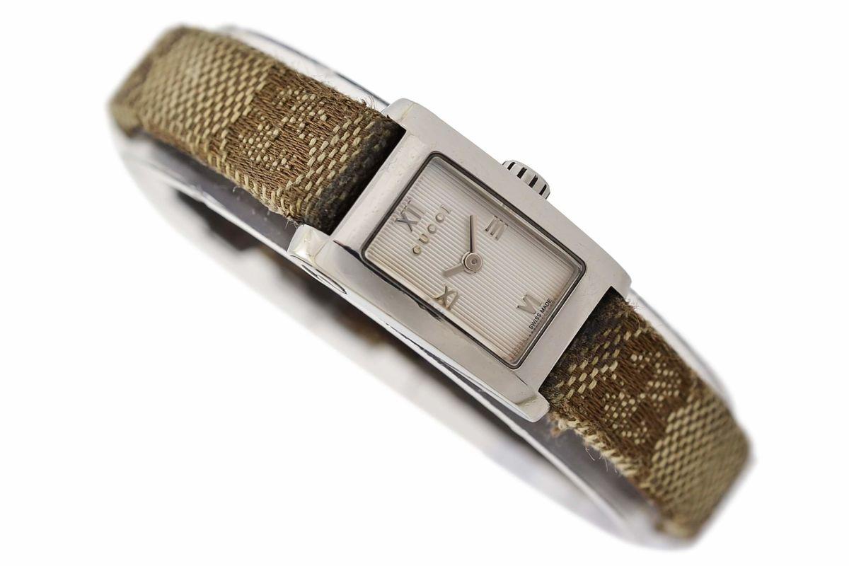 Vintage Gucci 8600L Stainless Steel Quartz Ladies Watch