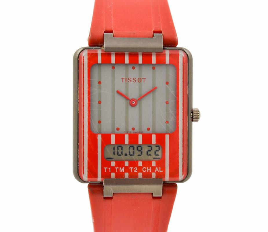 Tissot 1980s Two Timer D372