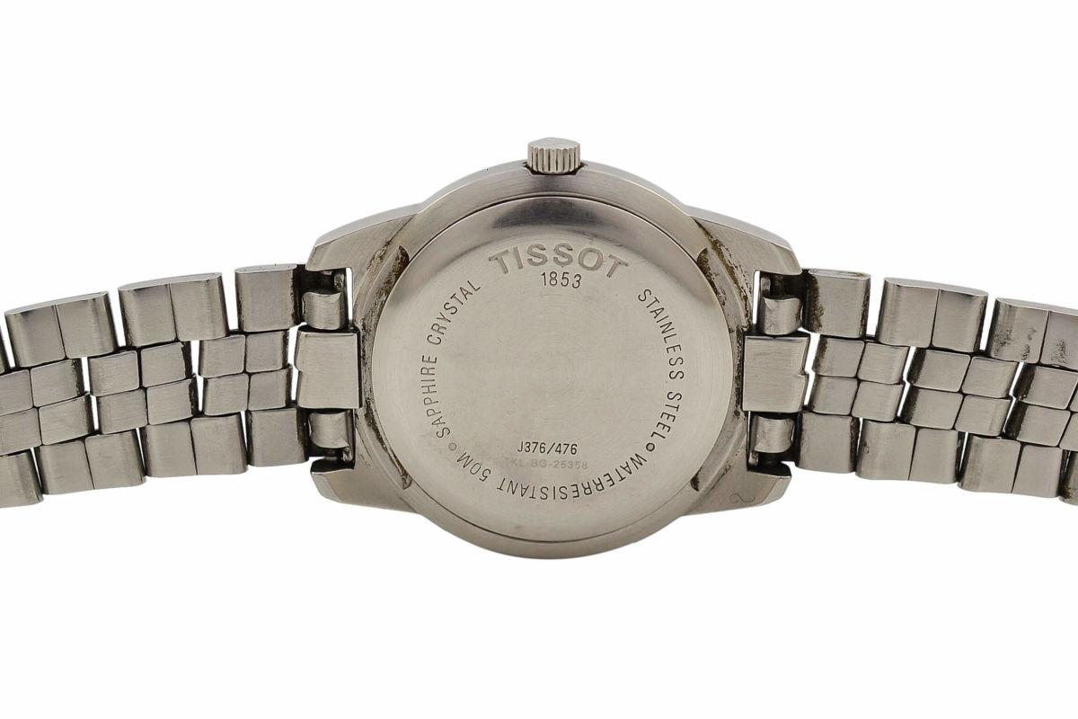 Vintage Tissot PR 50 J376/476 Stainless Steel Quartz Gents Watch