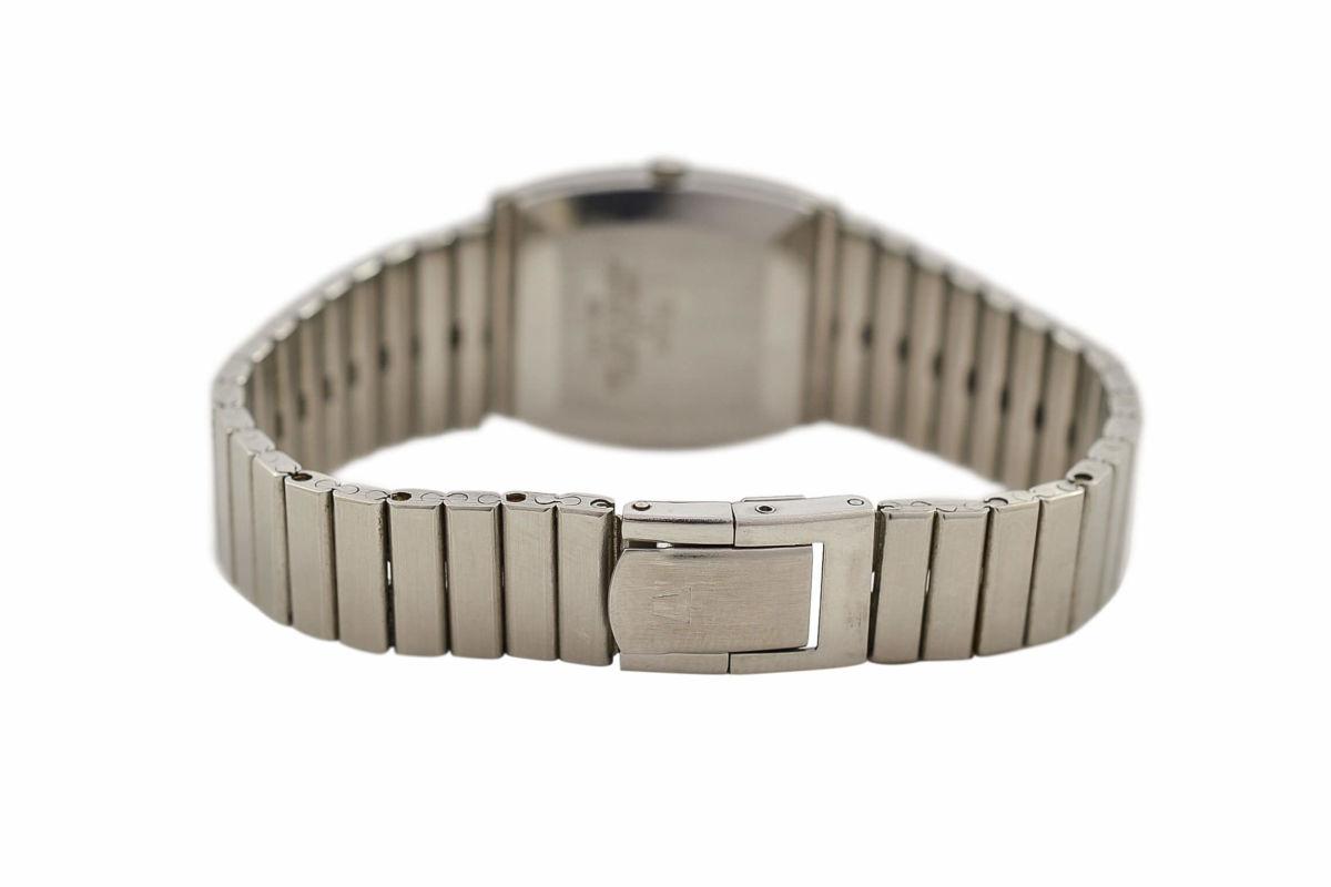 Vintage Bulova Longchamp 12085-1 Steel Manual Wind Ladies Watch