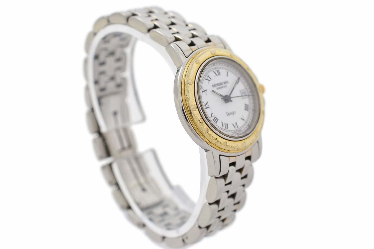 Vintage Raymond Weil Tango Stainless Steel Ladies Quartz Watch