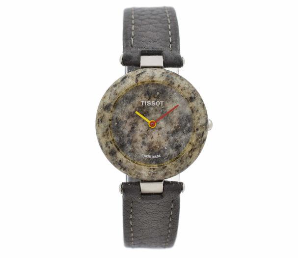 Vintage Tissot Rock Watch R150 Speckled Granite Ladies Quartz Watch