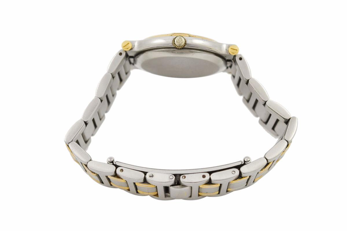 Vintage Gucci 9000M Stainless Steel Bi-Metal Quartz Midsize Watch