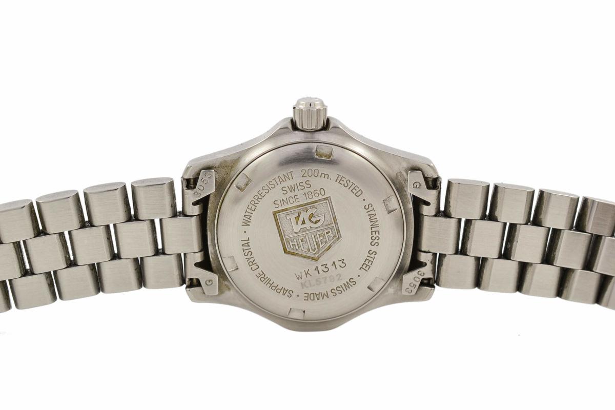 Vintage Tag Heuer 2000 Series WK1313 Quartz Ladies Watch