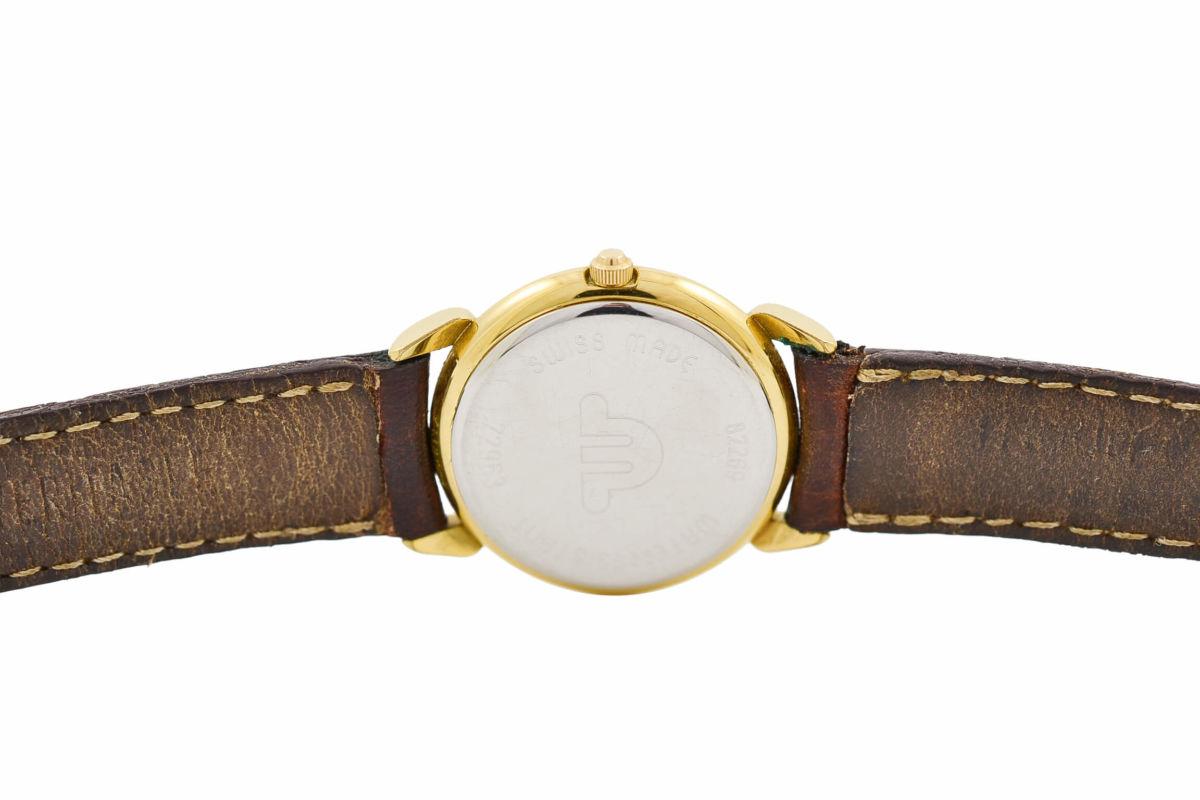 Vintage Maurice Lacroix 72963 Gold Plated Quartz Ladies Watch