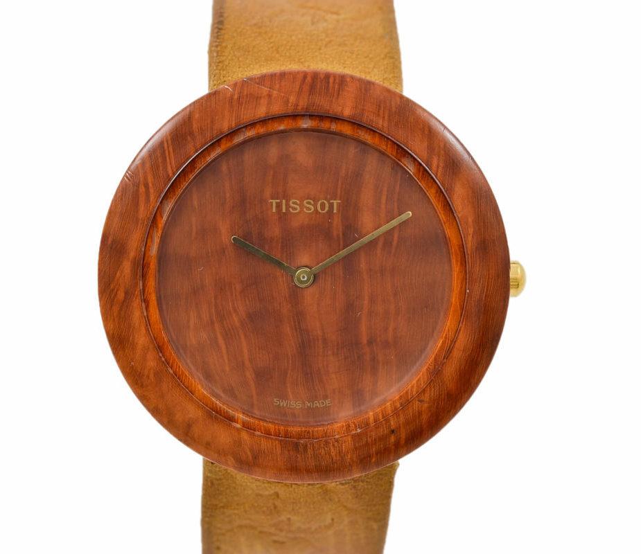 Tissot Genuine Wood Watch