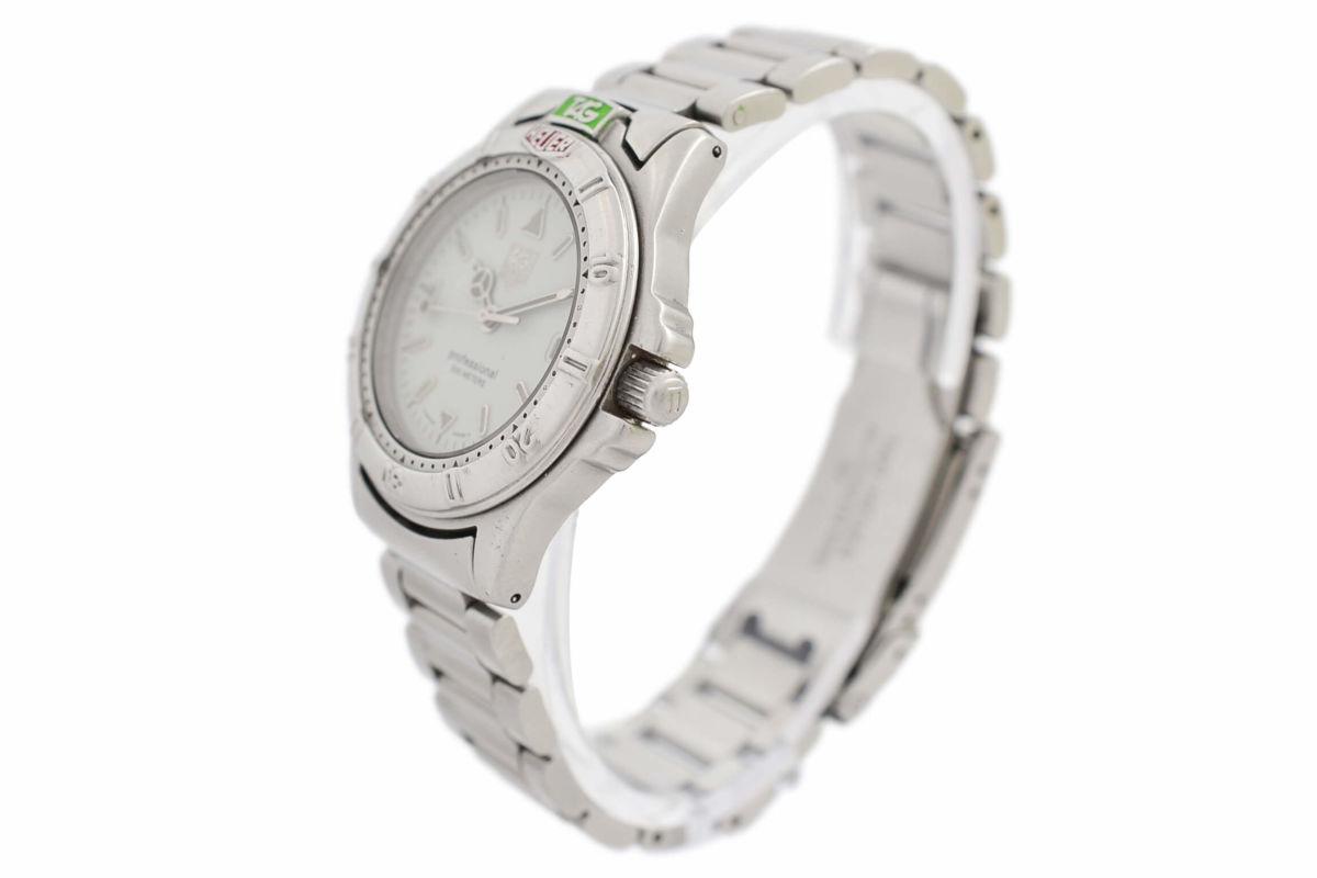 Vintage Tag Heuer 4000 Series Professional 999.713K Quartz Mens Midsize Watch