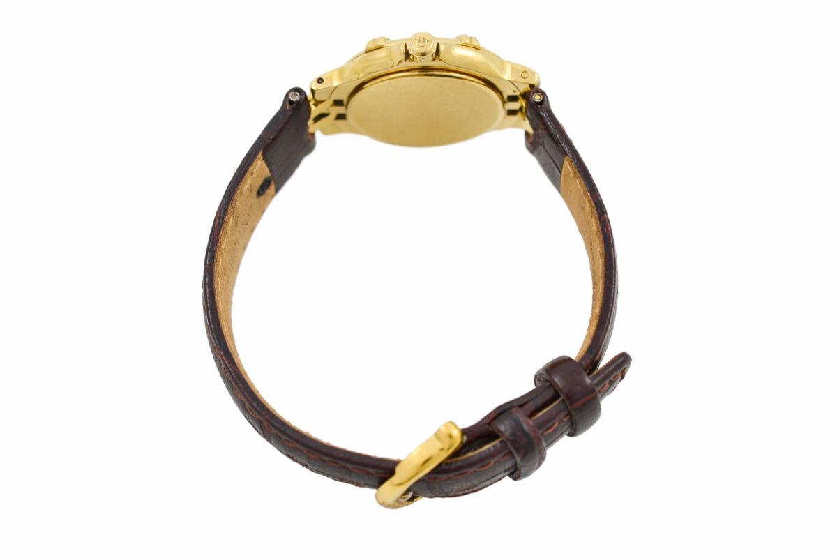 Vintage Maurice Lacroix Calypso 75370 Gold Plated Quartz Ladies Watch