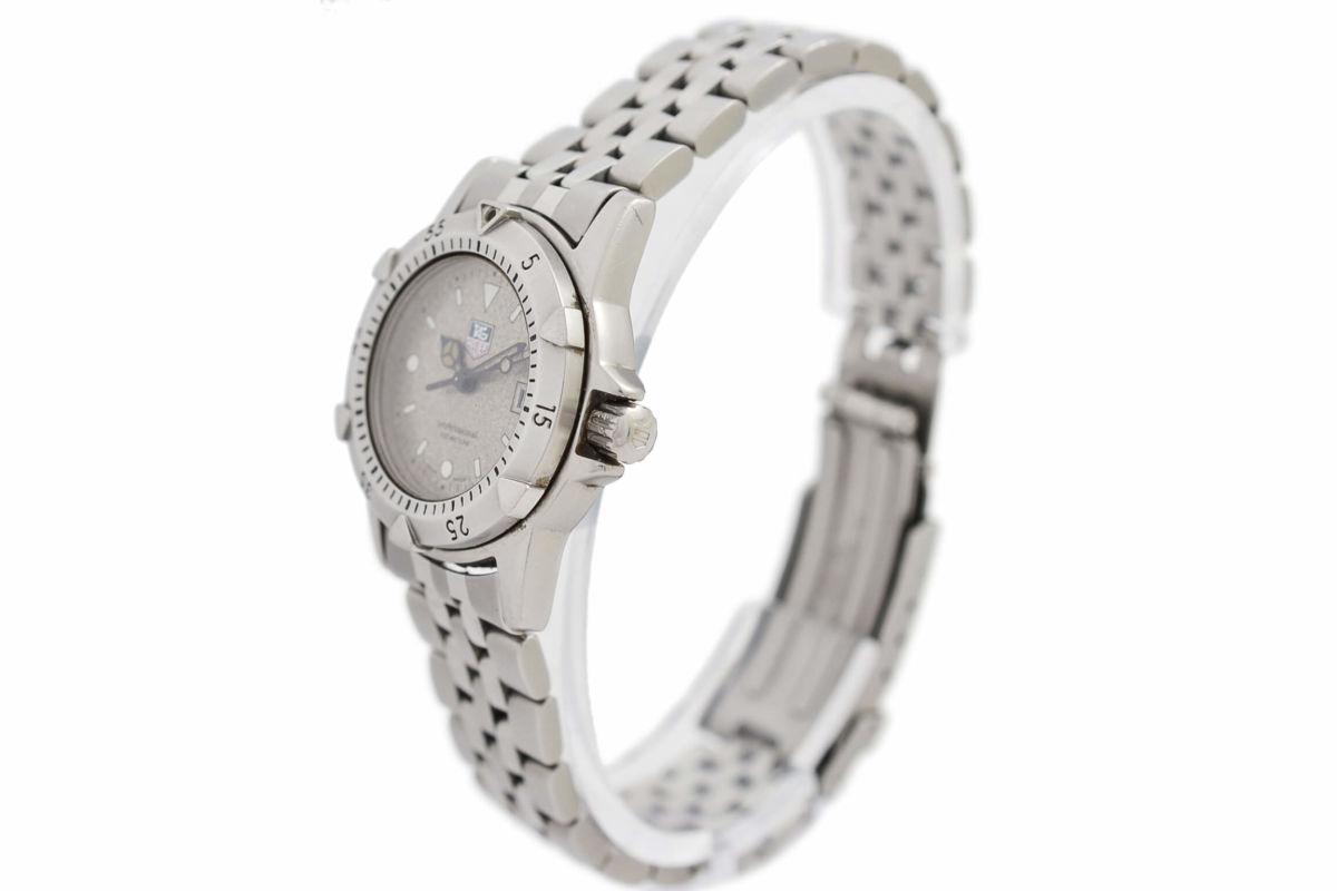 Vintage Tag Heuer 1500 Series WD1411-PO Quartz Ladies Watch