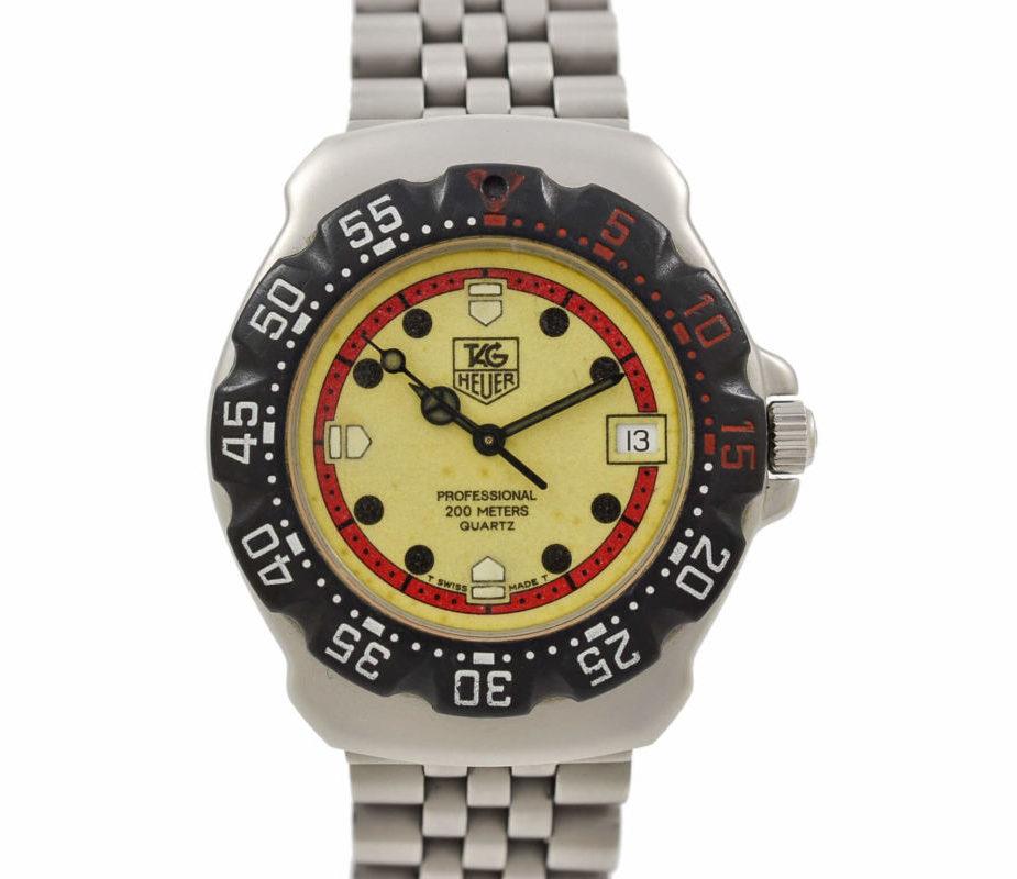 124783562 Tag Heuer Formula 1 Series - Vintage Watch For Sale | VintageTimeWatches