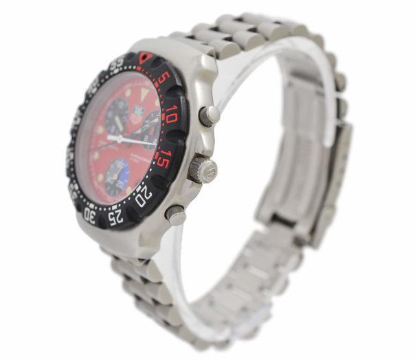 Vintage Tag Heuer Formula One Chronograph CA 1215 Men's Watch
