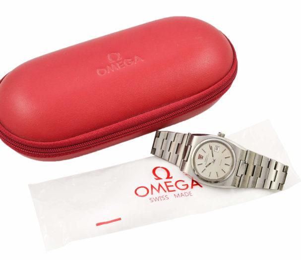 Vintage Omega Geneve MegaQuartz 32 KHz Quartz Stainless Steel Ladies Watch