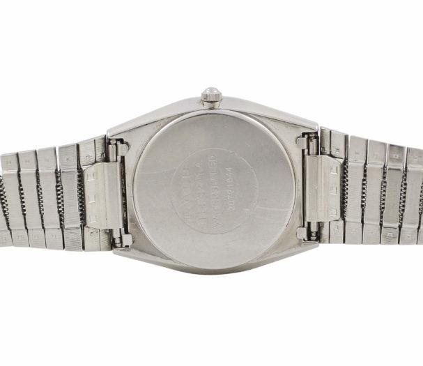 Vintage Rado Quartz 114.3241.4 Steel Gents Midsize Watch