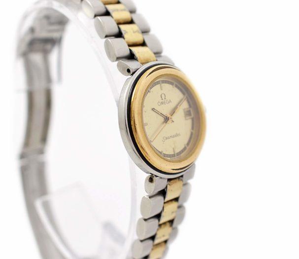 Vintage Omega Seamaster Quartz Stainless Steel Ladies Watch