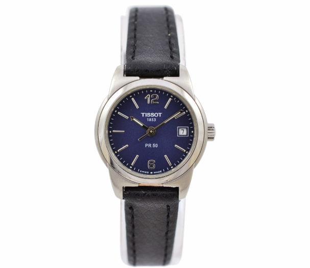 Vintage Tissot PR 50 J326/426K Stainless Steel Quartz Ladies Watch