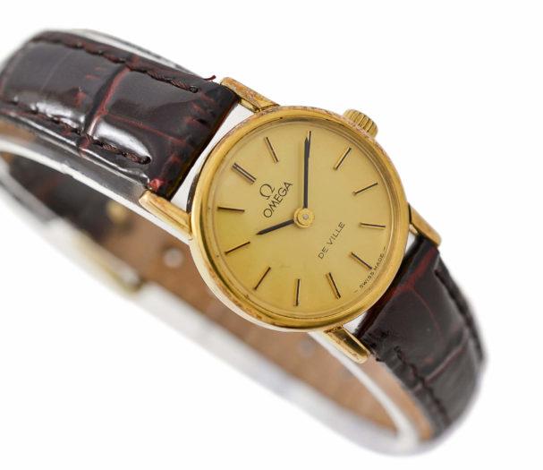 Vintage Omega De Ville Cal.625 Manual Wind Gold Plated Ladies Watch