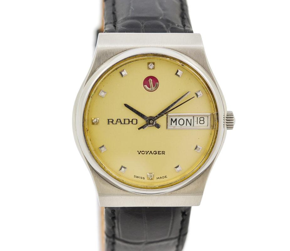 Rado Voyager 1980s