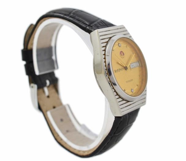 Vintage Rado Voyager 636.4015.2G Steel Automatic Midsize Watch