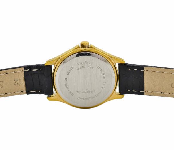 Vintage Tissot Seastar 3ATM Gold Plated Ladies Quartz Watch 69