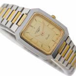 Vintage Longines XL 24 Swiss 4921 Quartz Bi-Metal Ladies Watch