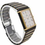 Vintage Omega De Ville Cal.1455 Quartz Bi-Metal PVD Ladies Watch